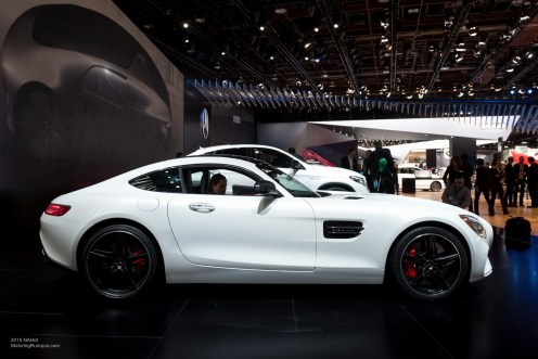 2015 NAIAS Mercedes AMG GT S Side
