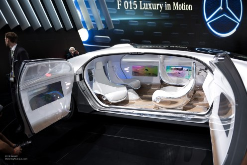 2015 NAIAS Mercedes-Benz F 015 Interior