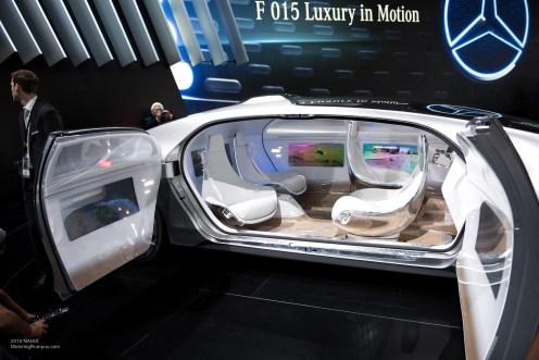 2015 NAIAS Mercedes-Benz F 015 Interior