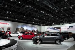 2015 NAIAS Toyota Display