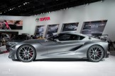 2015 NAIAS Toyota FT-1 Concept Silver Graphite