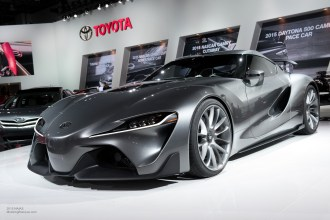 2015 NAIAS Toyota FT-1 Concept