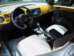 2016 NAIAS VW Beetle Dune Interior