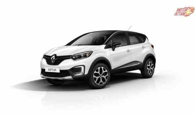 Renault Kaptur India front