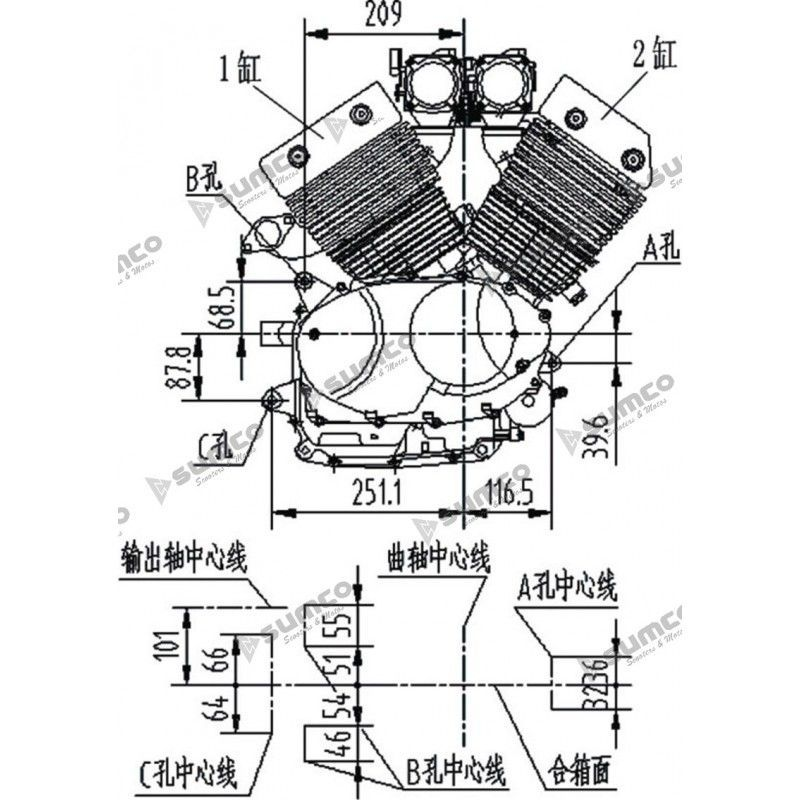 200cc lifan motor ledningsdiagram