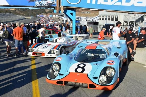 El Rennsport Reunion es un evento exclusivo para vehículos clásicos de Porsche que ha venido celebrándose desde el 2001. La primera edición fue en la pista Lime Rock, en Connecticut; en el 2004 y 2007 fue en Daytona y las ediciones del 2011 y 2015, en Laguna Seca, California.