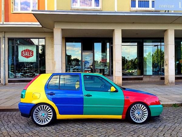 Volkswagen VW Golf Harlequin Harlekin Andres O'Neill photo 07