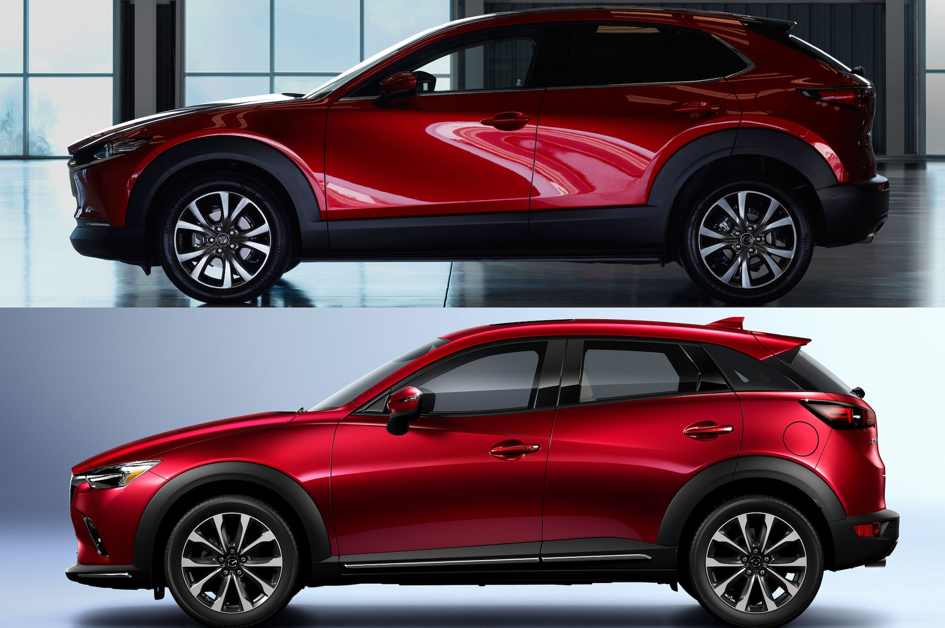 / Vs Refreshing Or Revolting Mazda Cx 30 Vs Mazda Cx 3 Motortrend