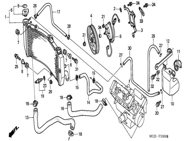 honda cbr 929 rr wiring diagram