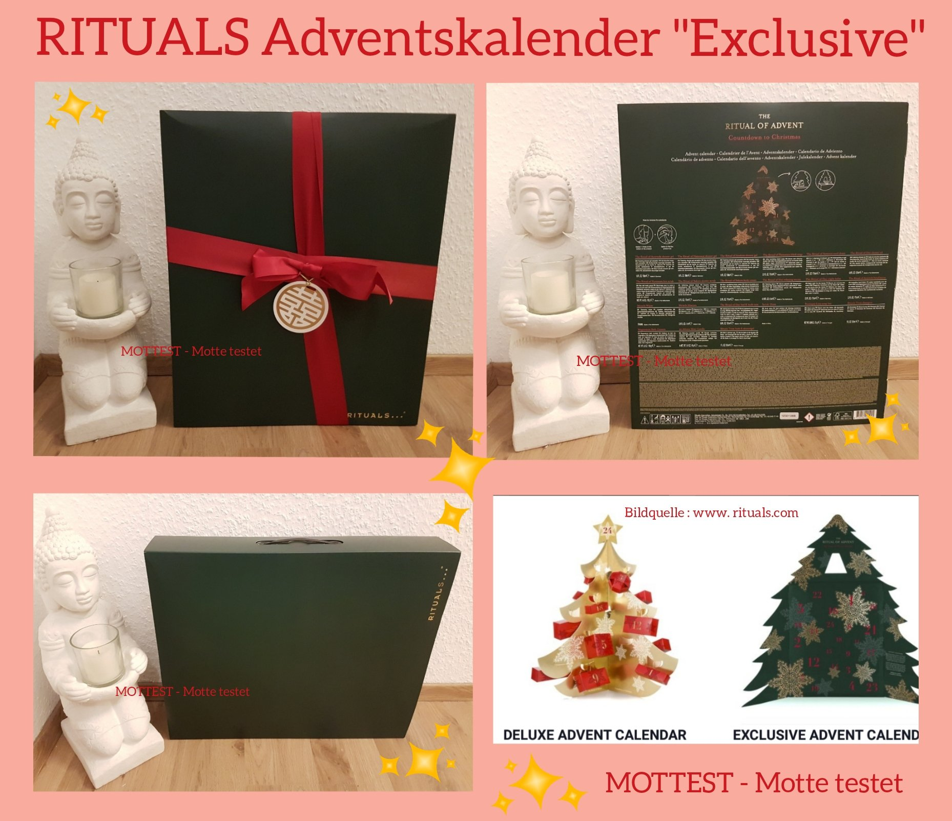 Adventskalender Rituals Rituals Exclusive Adventskalender 2017 Werbung