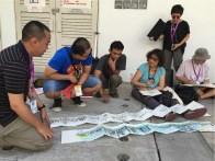 Menyimak sharing dari Tia Boon Sim dari Singapore