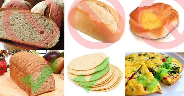 Czym zastąpić zwykły chleb i klasyczną drożdżówkę ?