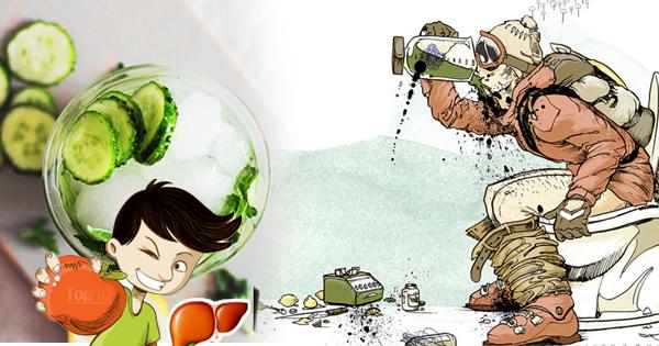 3 przepisy na wodę oczyszczającą wątrobę - zdrowa wątroba gwarancją niskiego poziomu tkanki tłuszczowej
