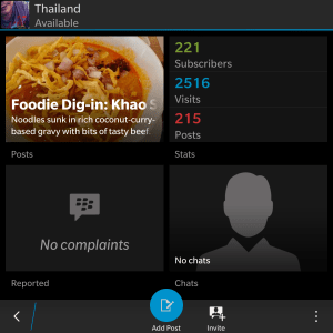 "Menu Snapshot of ""Thailand"""