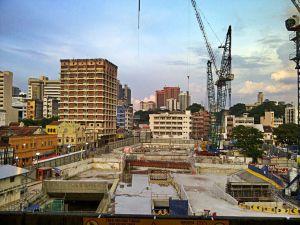 Modernisation of Kuala Lumpur. Only the elites enjoy true luxury and comfort.