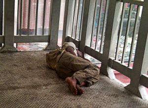 Urbanites usually ignore the plights of Malaysians and foreigners who are homeless in the city.