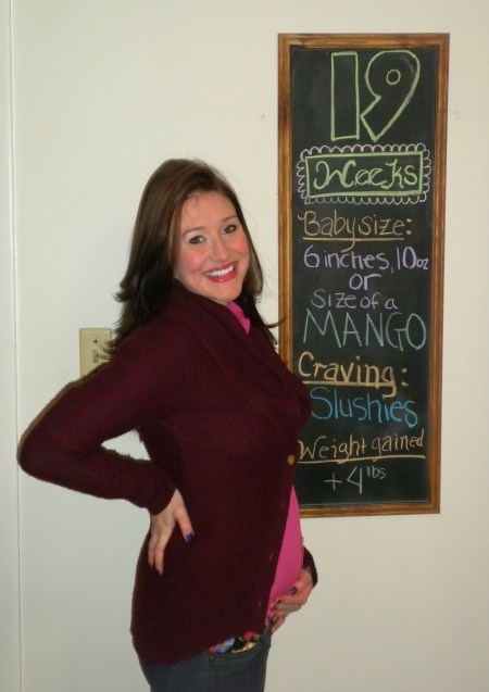 18 Weeks 6 Days Pregnant