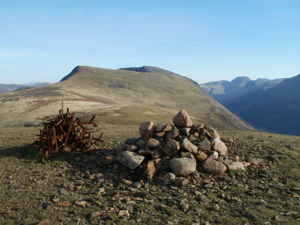 Piketpaaltjes Gamma Great Borne And Starling Dodd From Ennerdale The