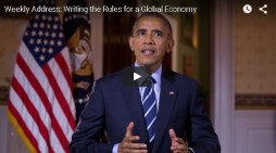 President Obama's Weekly Address: Writing the Rules for a Global Economy