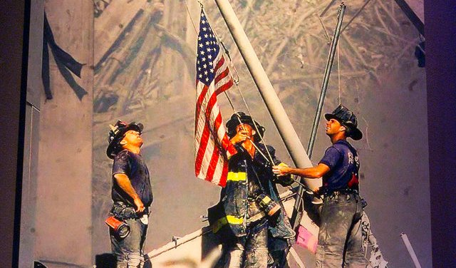 Iconic U.S. Flag NYC Firefighters Raised At Ground Zero On 9/11 Has Been Donated To The National September 11 Memorial & Museum