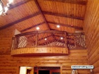 Curved Balcony Railing | Mountain Laurel Railing