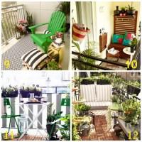 20 Inspiring Balcony Decorating Ideas - Upcycled Treasures