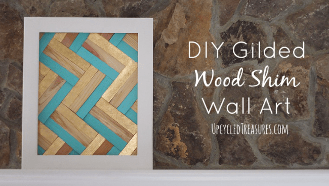 diy-gilded-wood-shim-wall-art-upcycledtreasures