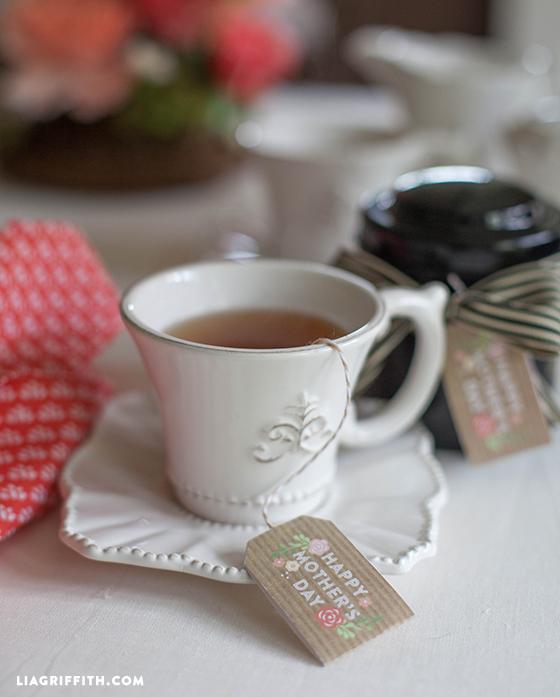 15 FREE Mother's Day Printable Tea Tags   upcycledtreasures.com