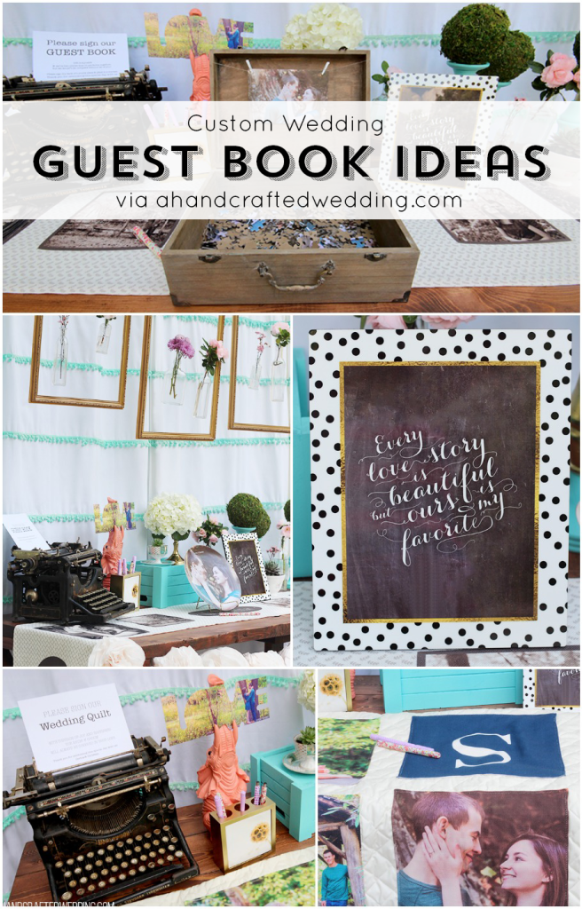 Custom Wedding Guest Book Ideas