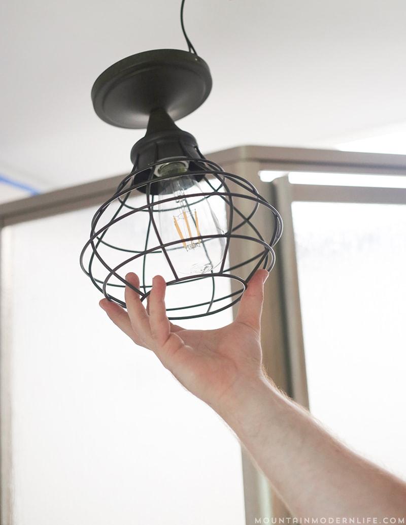 How to update rv interior lighting mountainmodernlife com