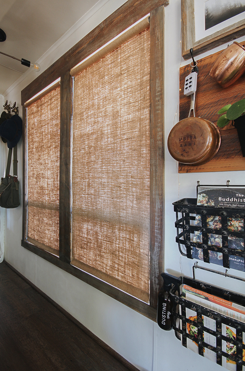How To Make Burlap Roller Shades No Sew Mountainmodernlife Com