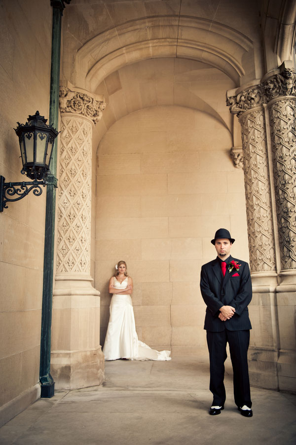 bridal portrait at the Biltmore