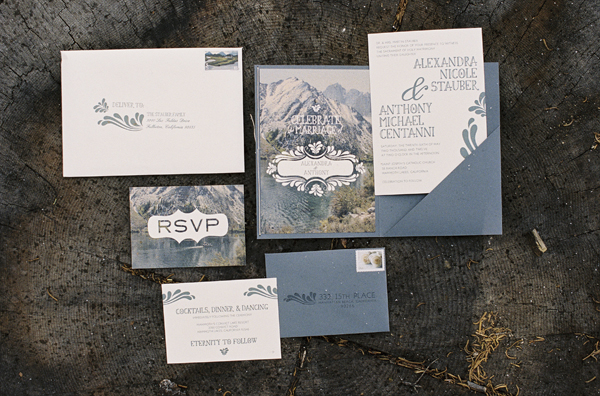 Mammoth Lakes Wedding Invitations