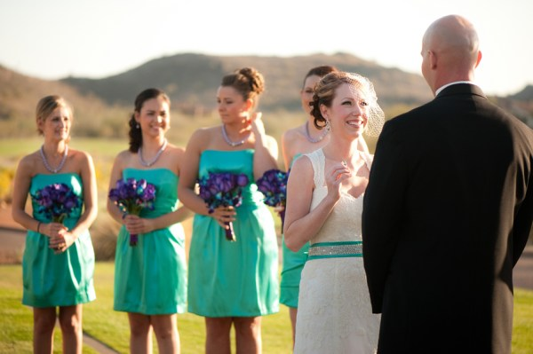 Arizona outdoor wedding ceremony