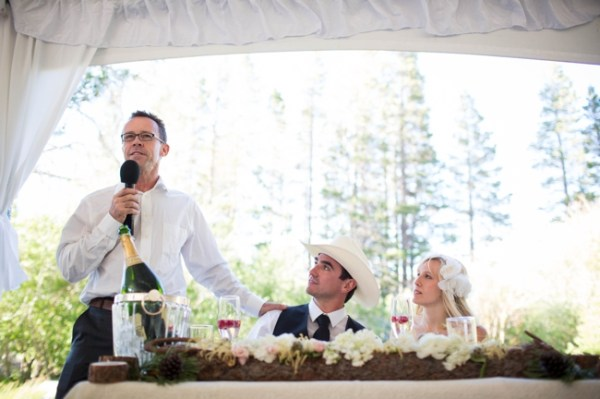 Mammoth Lakes Wedding speech