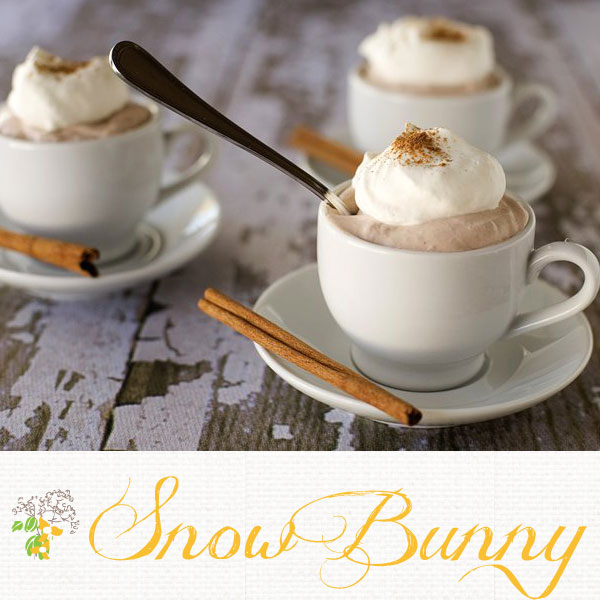 snow bunny hot chocolate signature drink