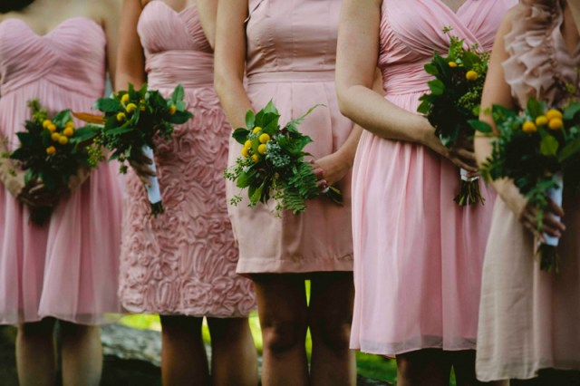 Western North Carolina Wedding with Pink Details