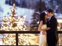 winter wedding in park city