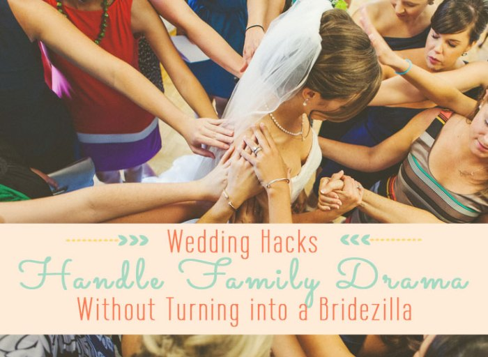 Wedding Hacks | Handle Family Drama