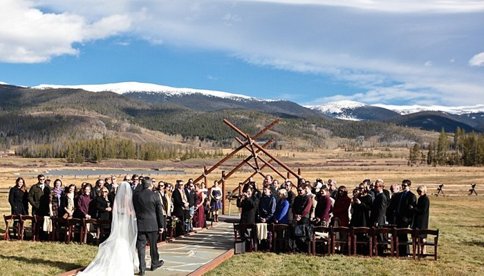 Picturesque Colorado Ranch Wedding with Charming Rustic Details