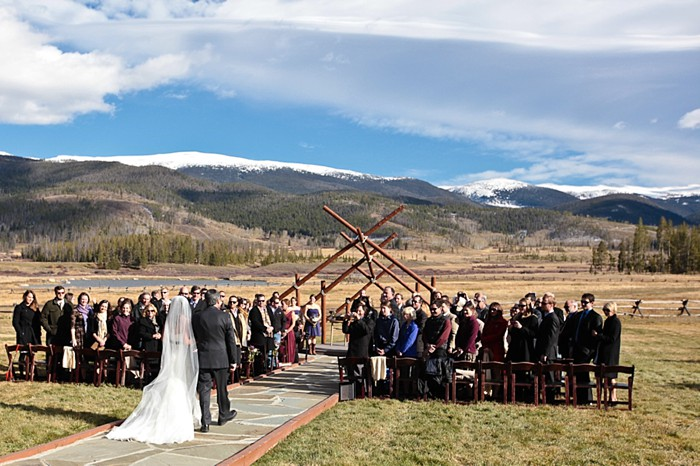 9-Devils-Thumb-Ranch-wedding-Becky-Young Photography-ceremony-from-behind