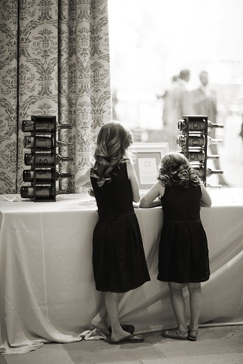 children at cake table | Deer Valley Utah Wedding | Pepper Nix Photography