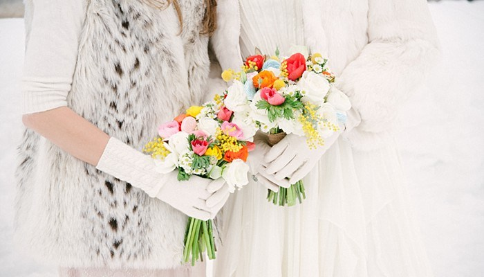 Stunning Circus Inspired Winter Wedding in Steamboat Springs