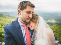 Forest wedding in western North Carolina | Tesar Photography