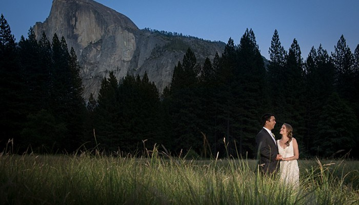 Intimate Yosemite Wedding with Romantic Pink and Rustic Details