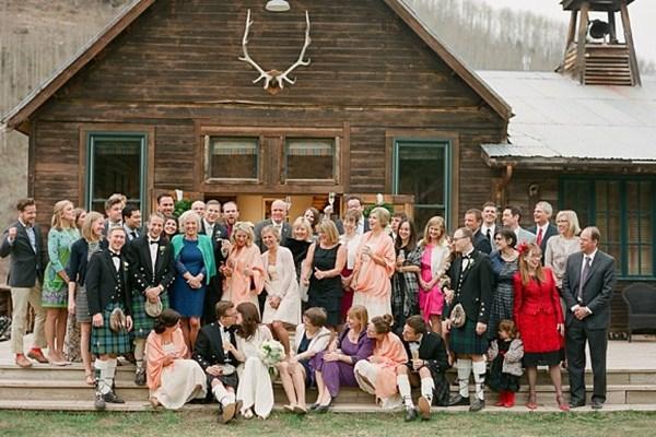 Romantic Mountain Wedding at Dunton Hot Springs Colorado