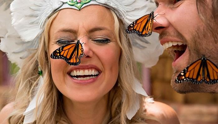 Bohemian Butterfly Wedding in Boulder Colorado