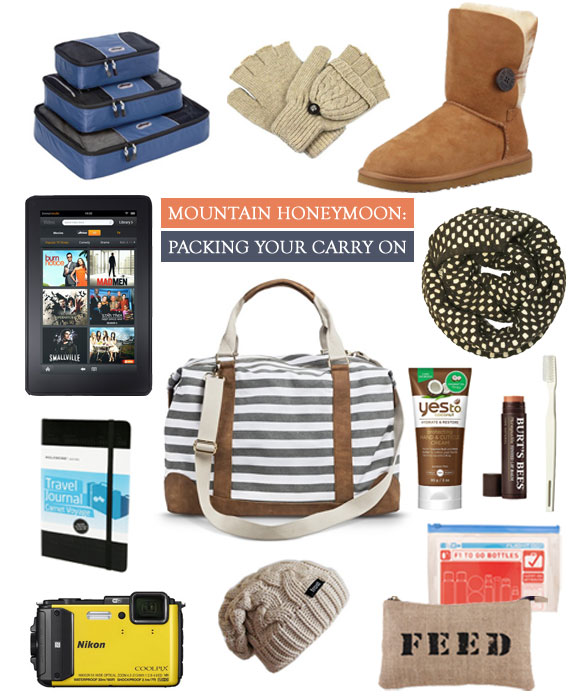 Mountain Honeymoon | What To Pack In Your Carry On