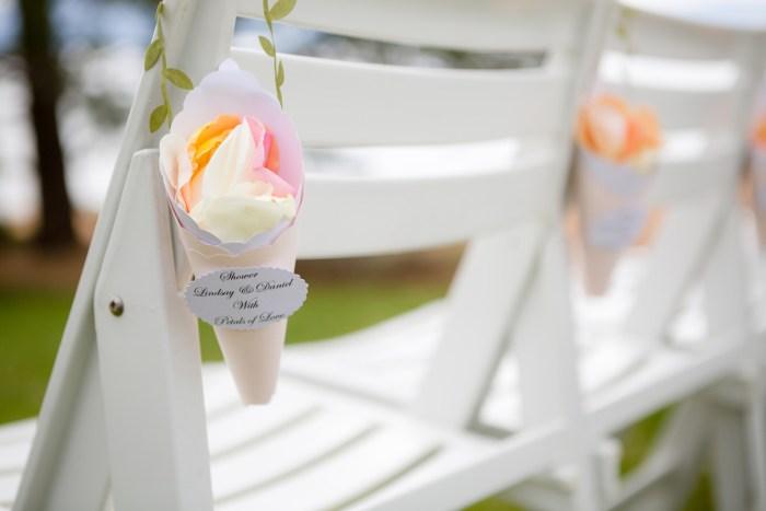 Ceremony Florals | Lake Tahoe Wedding | Eric Asistin Photographer