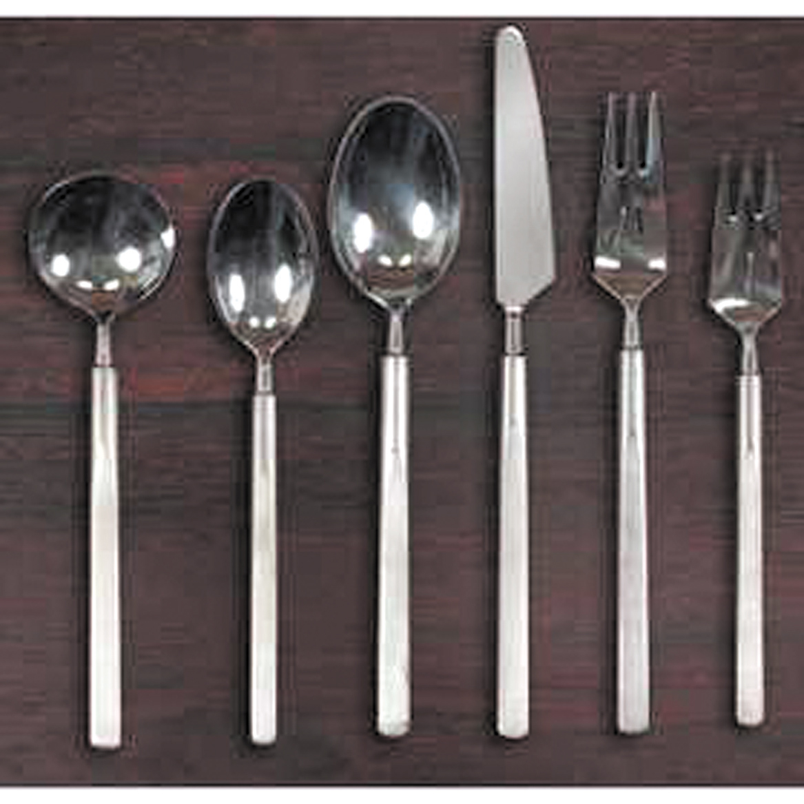 Contemporary Stainless Steel Flatware Antique Detective Modern Design Stainless Steel Flatware